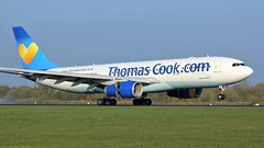 G-CHTZ (AnDyMHoLdEn) Tags: thomascook a330 egcc airport manchester manchesterairport 05r