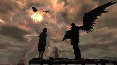 """""""One Last Flight"""" ({Thespis Clay Photography}) Tags: sl slphotography secondlife secondlifephotography fantasy postapoc apocalyptic doomsday"""