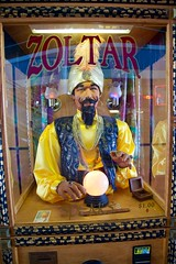 Zoltar Speaks (The Vintage Lens) Tags: fortune teller machine mystery future