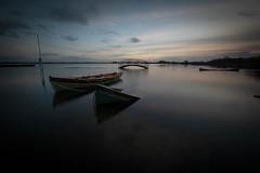 Surrender (Richie Moylan) Tags: water sky sun cloud boat bridge ireland