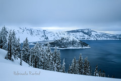 Crater Lake OR (©Helminadia Ranford) Tags: craterlake oregon america travel winter nature landscape