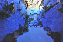 Chefchaouen, Morocco, January 2019 D700 378 (tango-) Tags: chefchaouen bluecity villaggioblu bluevillage morocco maroc 摩洛哥 marruecos марокко المغرب