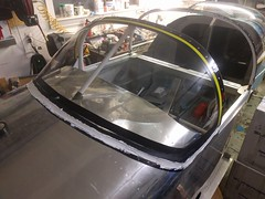 Windscreen installation on the Van's RV9 (SkyPilot181) Tags: canopy aircraft airplane rv9 vans homebuilt diy