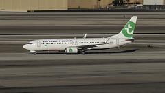 PH-HXA_LAS_Taxiing_In (MAB757200) Tags: suncountryairlines b7378k2 phhxa aircraft airplane airlines airport jetliner las klas boeing mccarran taxiing