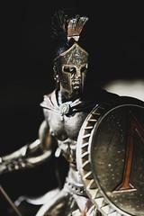 Leonidas '19 (R24KBerg Photos) Tags: statue spartan 2019 history warrior leonidas canon closeup greece greek battleofthermopylae sparta decor sculpture figurine