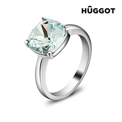 Hûggot Pacific Rhodium-Plated Ring Created with Swarovski®Crystals (STRASHOP) Tags: love instagood me tbt cute follow followme photooftheday happy tagforlikes beautiful self girl picoftheday like4like smile friends fun like strashop