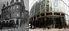 The Primrose Pub`Demolished`1912-2019 (roll the dice) Tags: london ec2 squaremile city nortonfolgate shoreditch spitafields vanished demolished sad mad surreal changes collection tourism media tourists canon urban ugly england classic art uk pub publichouse boozer beer ale drinking streetfurniture architecture windows vivianbetts tavern skyscraper bishopsgate trumans comparison nostalgia old local history retro bygone oldandnew pastandpresent hereandnow transport traffic fashion people ornate lights taxi crossing