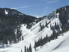 AV Mitigation_RedMtnPass_aerial.3.15.2019 (3) (coloradodotphoto) Tags: avalanche mitigation us550 redmountainpass colorado southwest region5 dot cdot highway safety aerial helicopter roadclosed