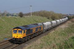 66759 30-03-19 (IanL2) Tags: gbrf class66 66759 chippy leicestershire railways trains locomotive emd
