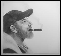 Retrato (bea.rebollar.martinez) Tags: retrato portrait pencil lapiz arte art dibujo drawing