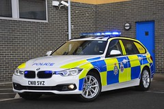 CN18 SVZ (S11 AUN) Tags: durham constabulary bmw 330d 3series xdrive touring anpr police traffic car rpu roads policing unit 999 emergency vehicle cn18svz
