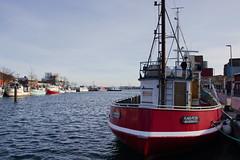 Nice Boat (Eisbär auf Taiwan) Tags: deutschland baltic beach sea schleswigholstein ostsee heiligenhafen