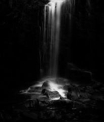 Kimmeridge Waterfall (Anthony White) Tags: dorsetuk gb blackandwhite waterfall rocks anthonywhitesphotography firecrest 6 stop nd filter