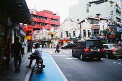 (Hem.Odd) Tags: malaysia kualalumpur motorbike street fujifilm xtra800 olympusxa3 parked expired