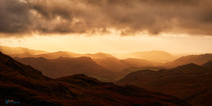 Dunnerdale from Hardknott (Dave Massey Photography) Tags: dunnerdale hardknott lakedistrict cumbria landscape outdoor dusk england