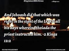 2 Kings 12:2 (jhungalang) Tags: 2 kings 122