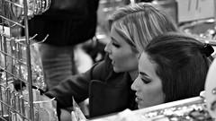 Shop Bijouterie (Pavel Jurásek) Tags: black white noir bw blackdiamond photography photographie monochrom femme human giirls street blackwhite moments pb streets steetphoto impublic urban city sreetlite people photo picture monochrome blackandwhite mono monotone flickr