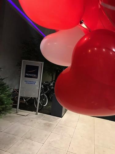 Heliumballonnen Hartballonnen Novotel Schiedam