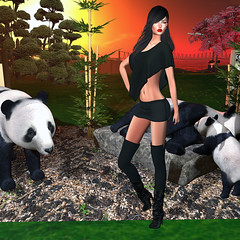 LuceMia - The Darkness Monthly Event (2018 SAFAS AWARD WINNER - Favorite Blogger - MISS ) Tags: sl secondlife mesh fashion creations blog beauty hud colors models lucemia thedarknessmonthlyevent event anastyle