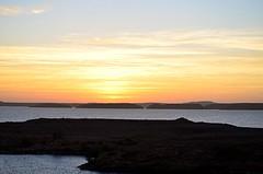 The Sun Approaches (pjpink) Tags: sun sunrise morning lakenasser lake desert nubia golden abusimbel egypt january 2019 winter pjpink 2catswithcameras