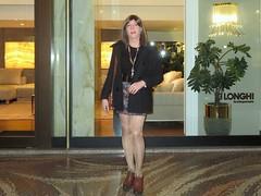 Milano - Galleria Strasburgo (Alessia Cross) Tags: crossdresser tgirl transgender transvestite travestito