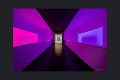 Farben wie Träume, Colors like dreams (Hildegard Spickenbaum) Tags: jamesturell museum lichtinstallation träume farben
