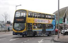 Dublin Bus GT159 (132D11611). (Fred Dean Jnr) Tags: dublinbusyellowbluelivery busathacliath dublinbus lowemissionbustrial volvo b9tl wright eclipse gemini2 gt159 132d11611 cork pboro merchantsquaycork eddierockets