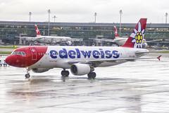 HB-IJV | Edelweiss Air | Airbus A320-214 | CN 2024 | Built 2003 | ZRH/LSZH 13/11/2018 (Mick Planespotter) Tags: aircraft airport a320 nik sharpenerpro3 hbijv edelweiss air airbus a320214 2024 2003 zrh lszh 13112018 2018 zurich kloten