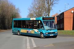 Arriva Buses Wales - CX09BGK, 0691 (M.R.P Photography) Tags: arriva arrivabuseswales arrivacymru deutschebahn optare optarem950 optaresolo cx09bgk 0691