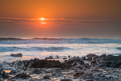 Sunset at Dollar Cove (mqmquilter) Tags: churchcove coast coasts cornwall dollarcove gunwalloe lizard nationaltrust seascape waves landscapes breathtakinglandscapes