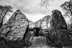 Waylands Smithy, a Neolithic Long Barrow built in 3400BC (Grumpy Old Man Photography) Tags: texture longbarrow blackandwhite ancient monument neolithic canon5dmkiii