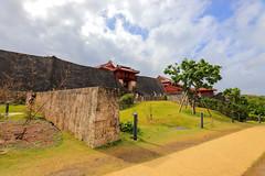 Shuri Castle 首里城 (YY) Tags: shuricastle okinawa japan ryukyu ryukyukingdom castle naha 首里城 那霸 琉球 琉球王國 日本 沖繩 gate wall