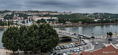 Coimbra - Portugal (ericbaygon) Tags: bridge vue view nikon d750 panorama panoramic building parking coimbra portugal arbre tree sky eau water rivière fleuve river