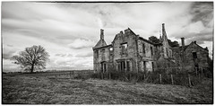 IMG_3139 (Cauther Photography) Tags: scotland derelict abandoned canon mono sky house mansion old