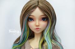 DSC_2044 (sonya_wig) Tags: fairytreewigs wig bjdwig minifeewig bjd bjdminifee minifeechloe handmadedoll bjddoll dollphoto fairyland fairylandminifee minifee chloe bjdphotographycoloringhair