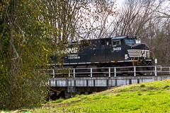 NS 9499 (EvanMiller1996) Tags: middlesboro kentucky ky coal ge c449w nikon norfolksouthern