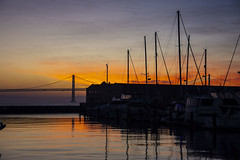 San Francisco (Glenn Pye) Tags: sanfrancisco california usa america sunshine sunrise boats water nikon nikond7200 oaklandbaybridge pier39