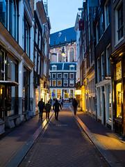 A0153136 (rpajrpaj) Tags: amsterdam city netherlands nederland nederlandvandaag bluehour thebluehour street streetphotography