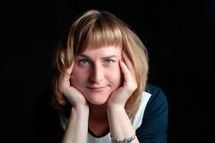 Victoria (okhariva) Tags: portrait studio closeup girl beautiful blonde blueeyes