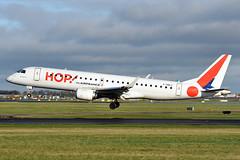 F-HBLC  ERJ190-100(LR)  HOP (n707pm) Tags: fhblc erj190 embraer airport airplane aircraft airline eidw dub ireland collinstown dublinairport cn19000080 hop 04022109