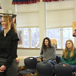 Potential edcuation students at school of education student day