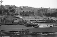 f-545-airone-1-taranto-1961-11-03_14106657753_o (t.libra) Tags: f545airone warships corvette taranto marinamilitare