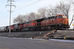 Eclectic M337 (DonnieMarcos) Tags: freighttrain freighttrains freight trains train trainspotting railfan railfanning railroad railway rails rail railroads track traintrack traintracks ge generalelectric cn cnrr cnr canadiannational cnfreeportsub m337 cnm337 cnm33791 m33791 berwyn berwynil chicago chicagorails