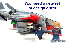 You need a new set of design outfit (WhiteFang (Eurobricks)) Tags: lego minifigures cmfs collectable walt disney mickey characters licensed design personality animated animation movies blockbuster cartoon fiction story fairytale series magic magical theme park medieval stories soundtrack vault franchise review ancient god mythical town city costume space
