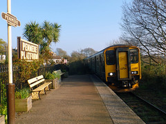 150266 Penmere (Marky7890) Tags: gwr 150266 class150 sprinter 2t85 penmere railway cornwall maritimeline train