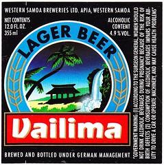 Western Samoa - Western Samoa Breweries (Apia) (cigpack.at) Tags: westernsamoa westernsamoabreweries apia vailima lagerbeer westsamoa bier beer brauerei brewery label etikett bierflasche bieretikett flaschenetikett