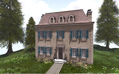New Release (...ROOST...) Tags: roost home house residence french france cottage english mansion landscape yard abode mesh maison paris