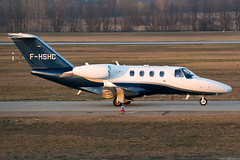 F-HSHC (Andras Regos) Tags: aviation aircraft plane fly airport bud lhbp spotter spotting cessna citationjet cessna525 businessjet corporate