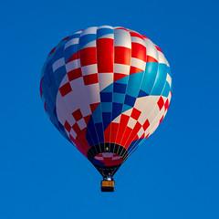 Red White & Blue (subrec) Tags: lakeland florida hot air balloons sunnfun sun n fun international flyin expo colorfulskies colorfulsky colorful color tampabay tampabayarea tampa orlando airshow pentaxk50 pentax pentaxart bluesky