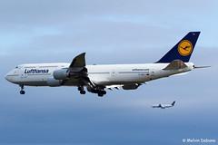 Lufthansa Boeing 747-830  |  D-ABYJ  |  Frankfurt Rhein-Main  - EDDF (Melvin Debono) Tags: lufthansa boeing 747830 | dabyj frankfurt rheinmain eddf cn 37834 melvin debono spotting canon plane planes photography airport airplane aviation aircraft fra deutschland germany